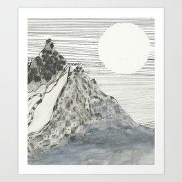 Joga  Art Print