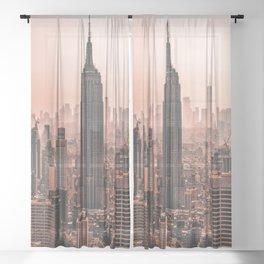 NEW YORK CITY XII Sheer Curtain