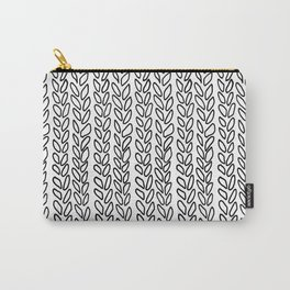 Knit Outline Zoom Carry-All Pouch
