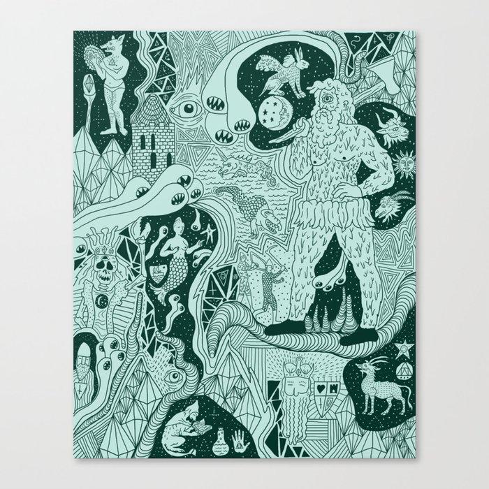 Wizard Dreams Canvas Print