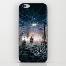 Aliens Destroying the World iPhone & iPod Skin