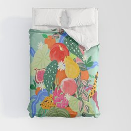 Fruits and Jungle Combo Comforters