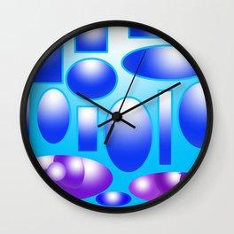 Relaxing Day Wall Clock