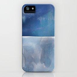 Hue in Blue iPhone Case