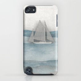 Floating Ship iPhone Case