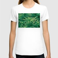 marijuana T-shirts featuring Marijuana Plants  by Limitless Design