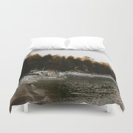 Cave Point Duvet Cover