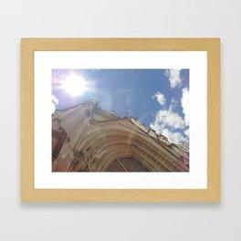 La Basílica del Sagrado Voto Nacional, Uno Framed Art Print