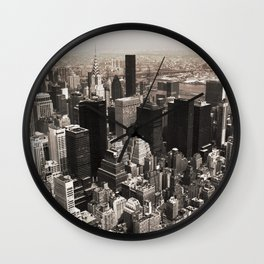 Above the Fray Wall Clock