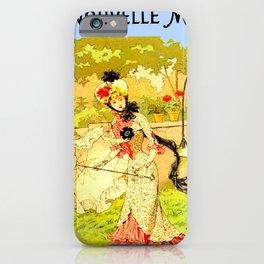 Monde rural et mode ... iPhone Case