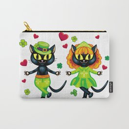 Irish dancing cats Carry-All Pouch