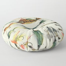 Fishing Lures Floor Pillow