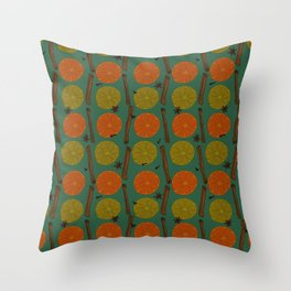 Mulled wine ingredients Throw Pillow
