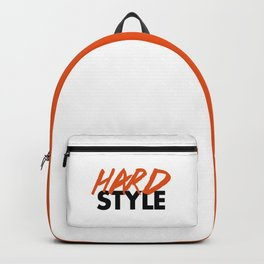 Dirty Hardstyle Rave Quote Backpack