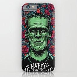 Frankenstein Halloween Party iPhone Case