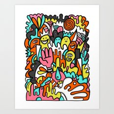 Mome raths Art Print