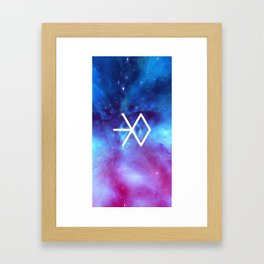 Exo Galaxy  Framed Art Print