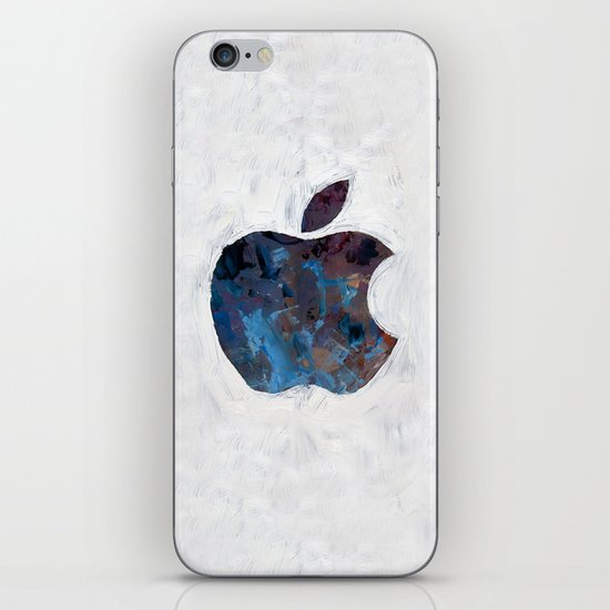 Painted Apple iPhone & iPod Skin