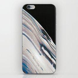 Space Time Blur iPhone Skin
