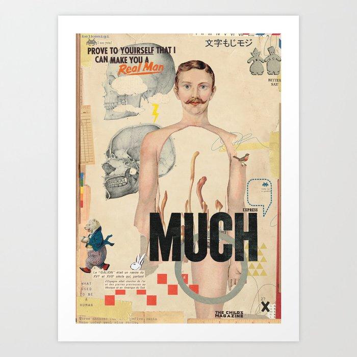 MUCH Art Print