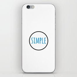 SIMPLE iPhone Skin