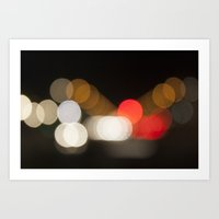 Let light be there Art Print