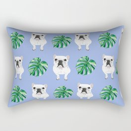 Summer Frenchies Rectangular Pillow