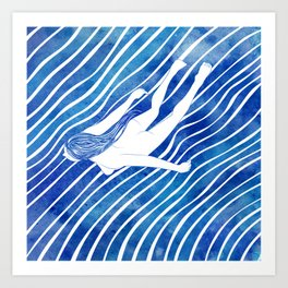Water Nymph LXIV Art Print