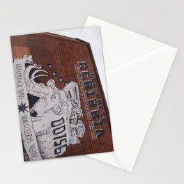 italian graffiti III Stationery Cards