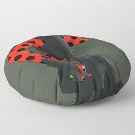 Calico Floor Pillow