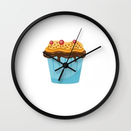 Funny Stud Muffin Electrician Husband design Wall Clock