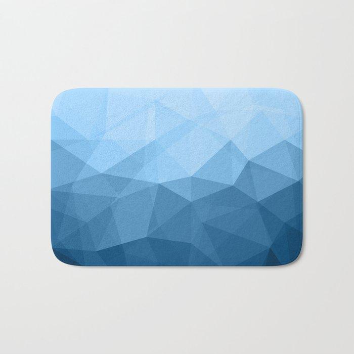 Geometric Polygonal Pattern 03 Bath Mat