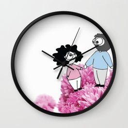 Love, lets get lost Wall Clock