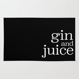 gin and juice Rug