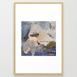 Edgar Allan Poe | Songs About Annabel Lee Framed Art Print