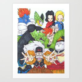 the androids. Art Print