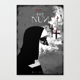 The Nun Canvas Print