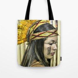 Natural beauty (no retouch) Tote Bag