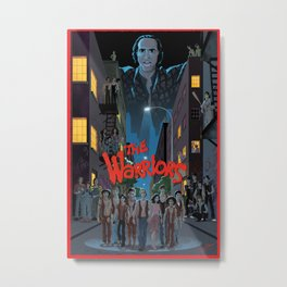 The Warriors Poster Metal Print