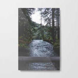 The Edge Metal Print