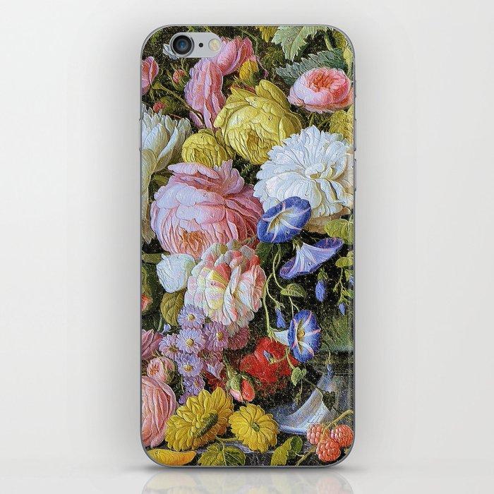 Vintage Varnish- Flowers&Fruit iPhone Skin
