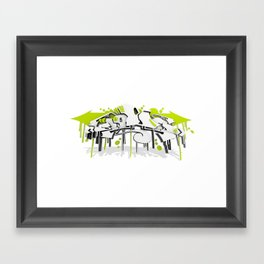 """SWEED"" Framed Art Print"