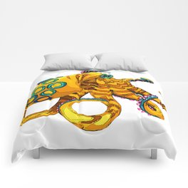 Blue-Ringed Octopus Comforters