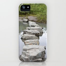 Stepping Forward iPhone Case
