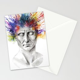 Not an academic portrait Stationery Cards