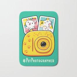 Pet Photographer Bath Mat