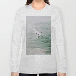 lets surf iv / venice beach, california Long Sleeve T-shirt