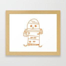 Blankie Monster Framed Art Print