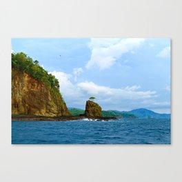 Playa Potrero Canvas Print