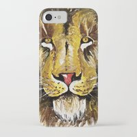 lion king iPhone & iPod Cases featuring Lion King by Devon